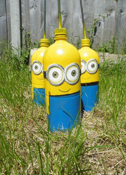 Поделки из пластиковых бутылок в детский сад