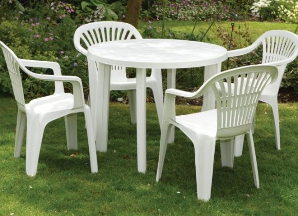 Столы и стулья для дачи фото