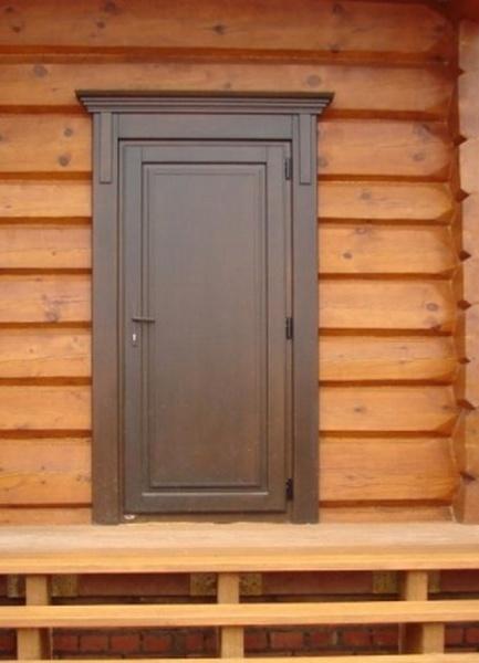 недорогая входная дверь на дачу