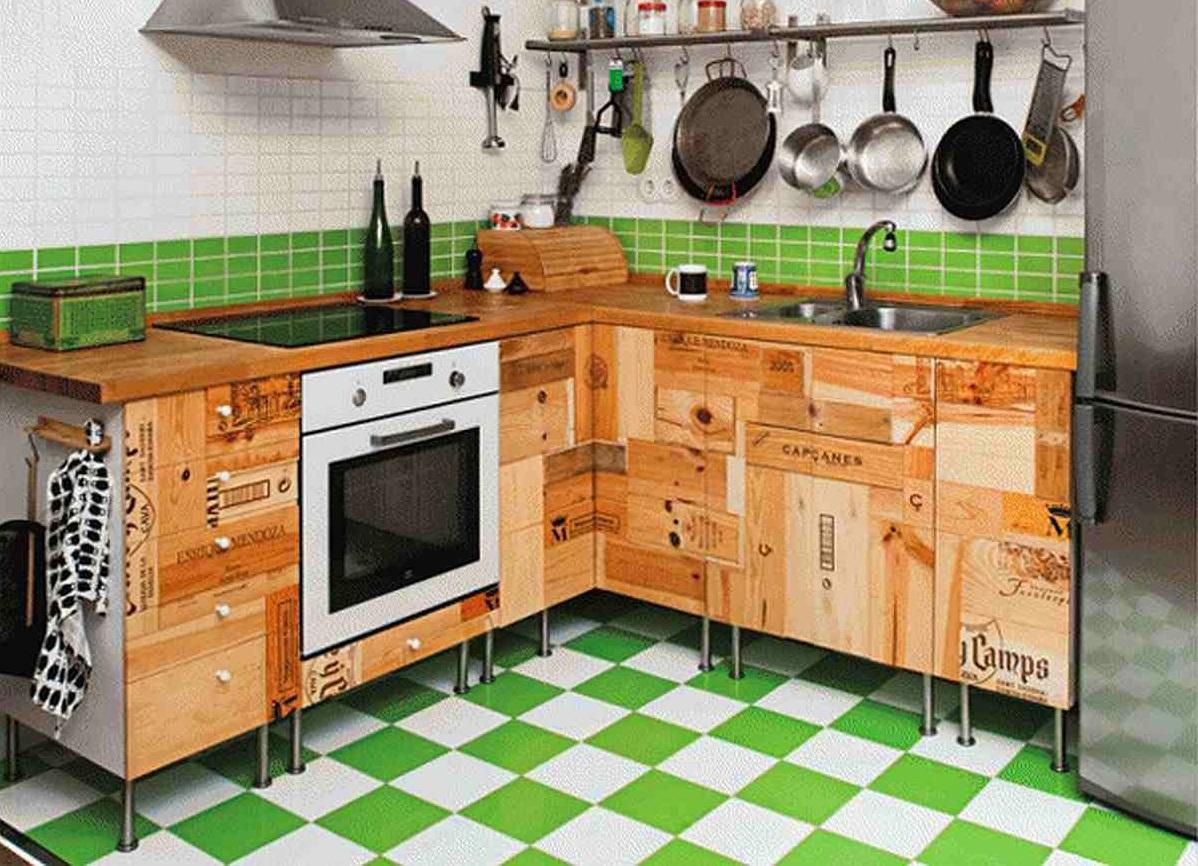 Интересные кухни своими руками фото