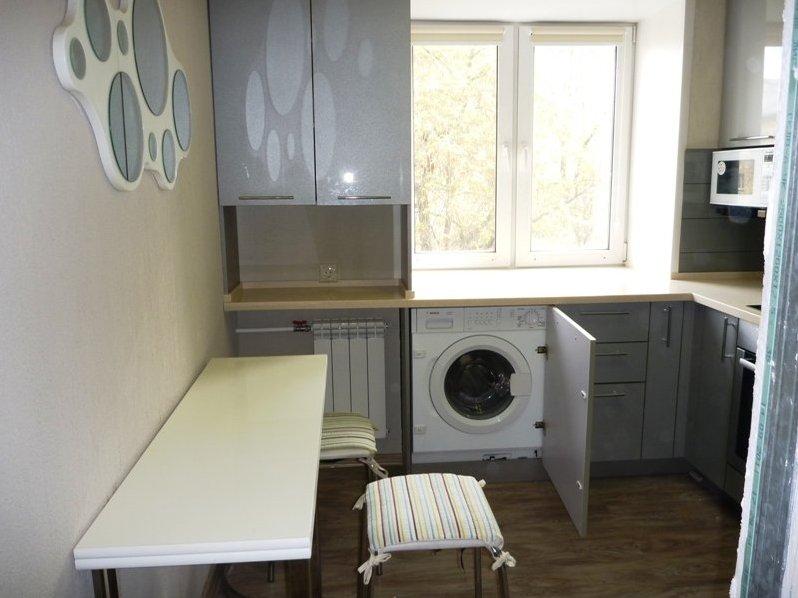 Дизайн окна кухни в хрущевке