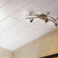 Отделка потолка панелями ПВХ - простое и доступное интерьерное решение