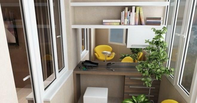 Мебель для лоджии и балкона: шкаф, диван, кресло, компьютерн.