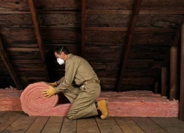 Утепление чердака минватой в частном доме своими руками