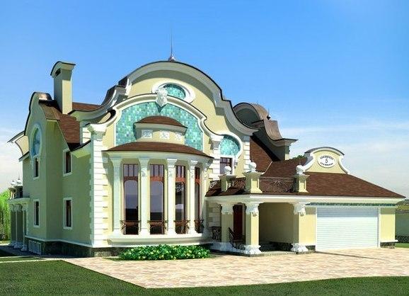 Фасад дизайн