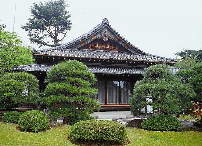 Дизайн японских домов