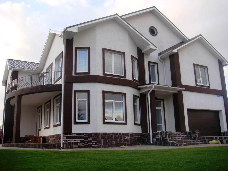 Дикий камень - Лучшие фасады частных домов