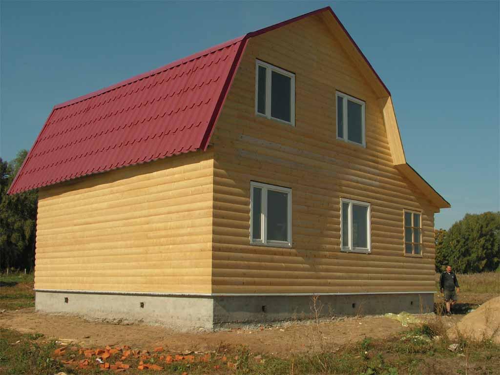 Дома с ломаными крышами фото