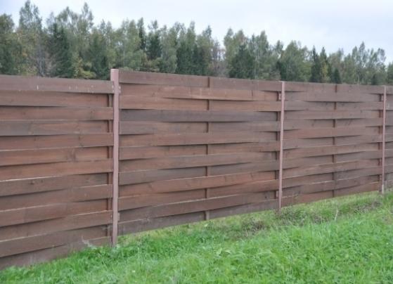 деревянный забор плетеный гнутой доской цена