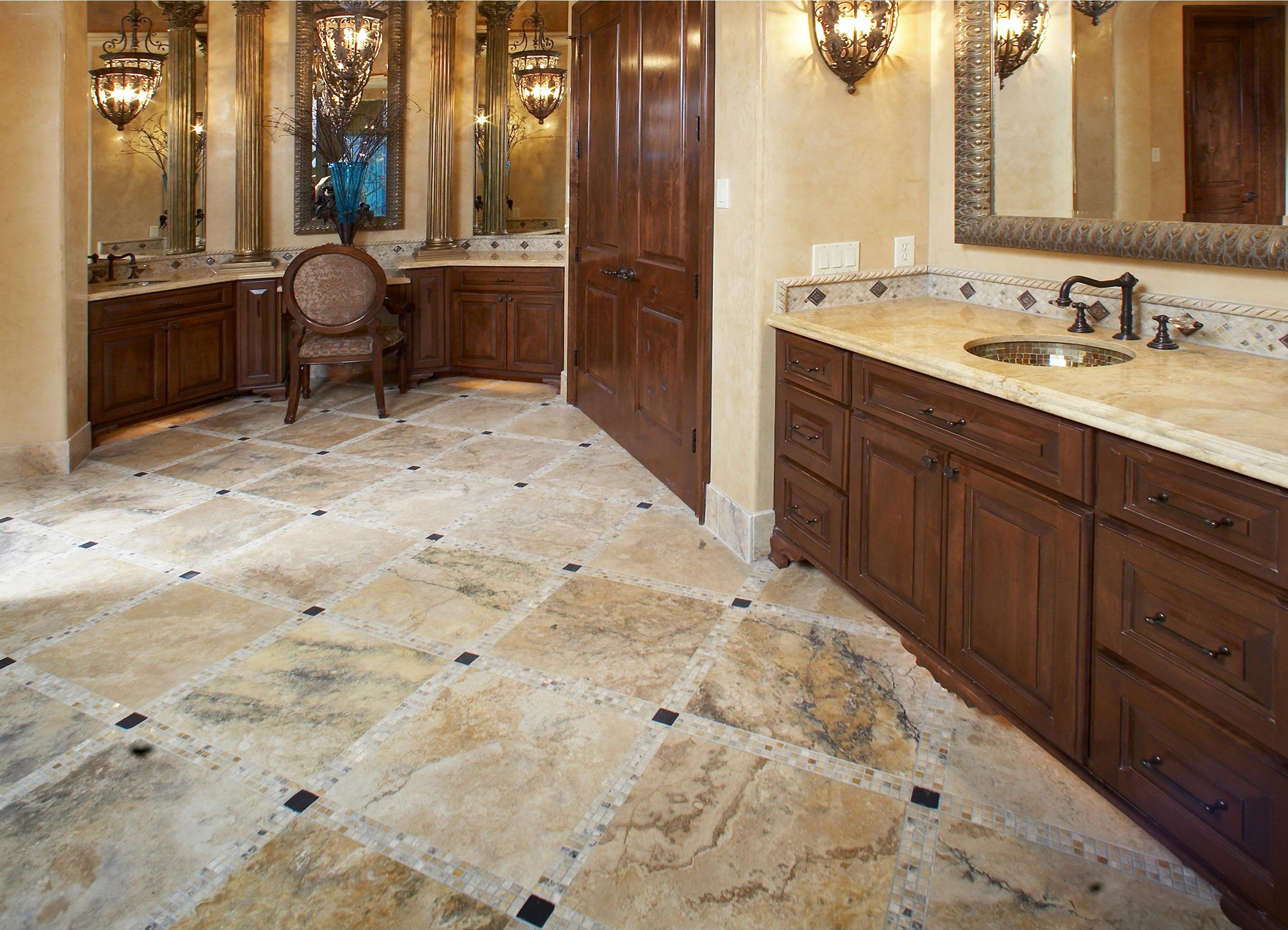 Travertine vs ceramic tile