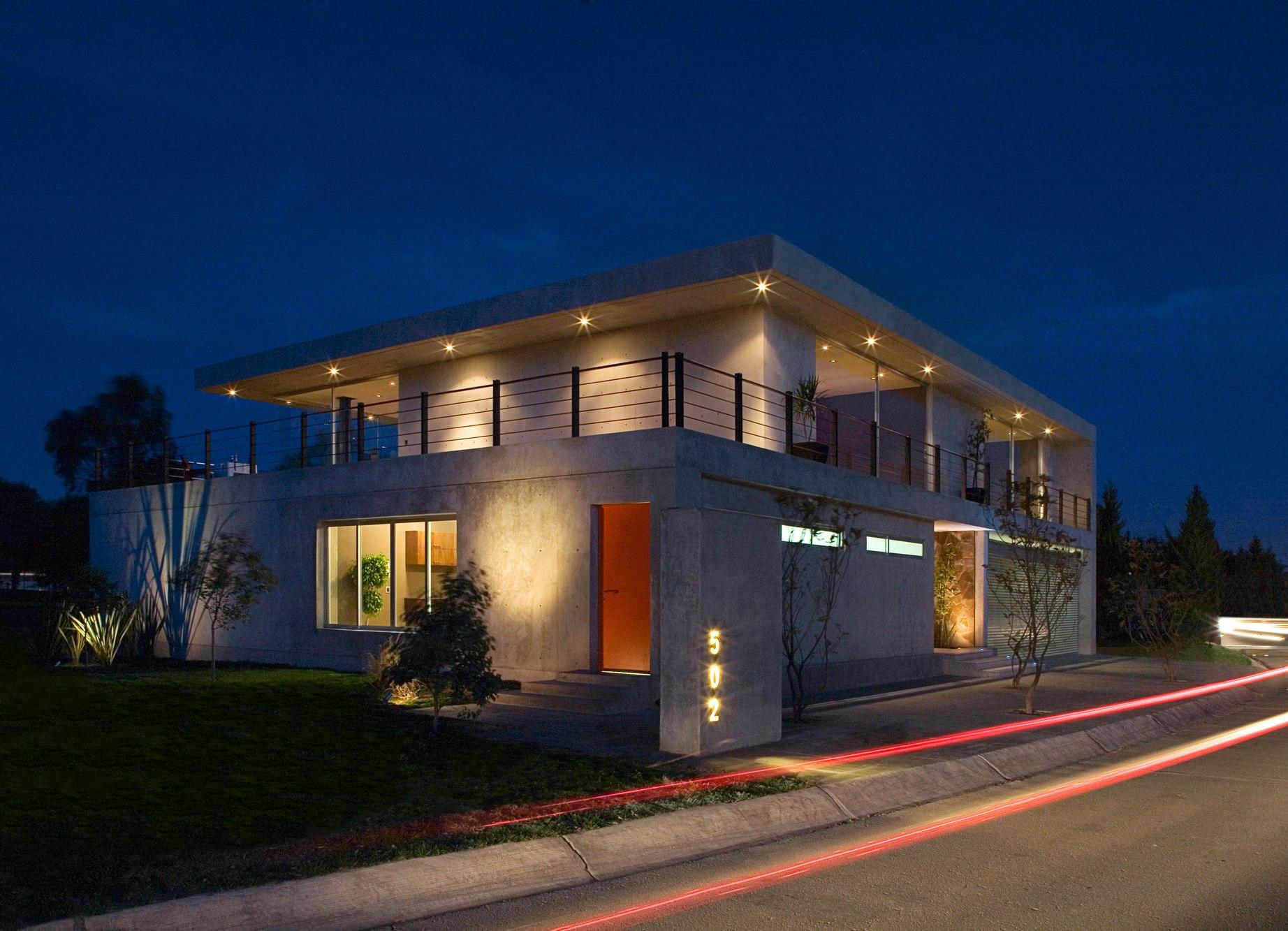 Iluminacion exterior mexico