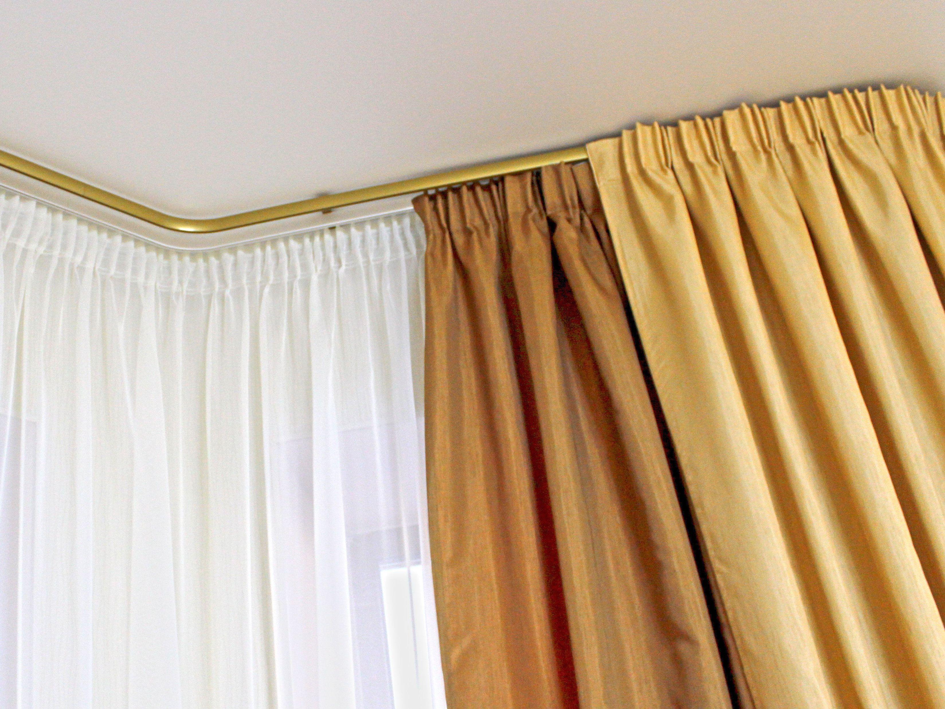 Как сшить шторы на карниз трубки