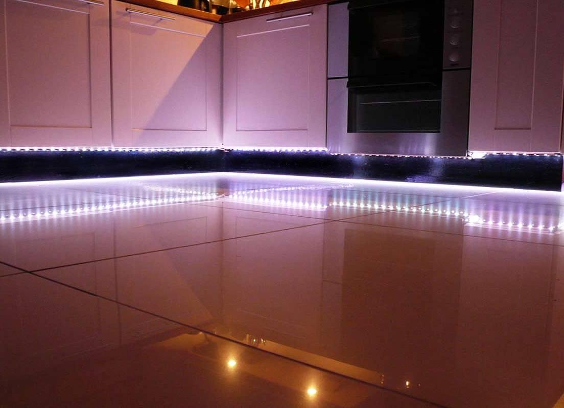 Как сделать светодиод на кухню