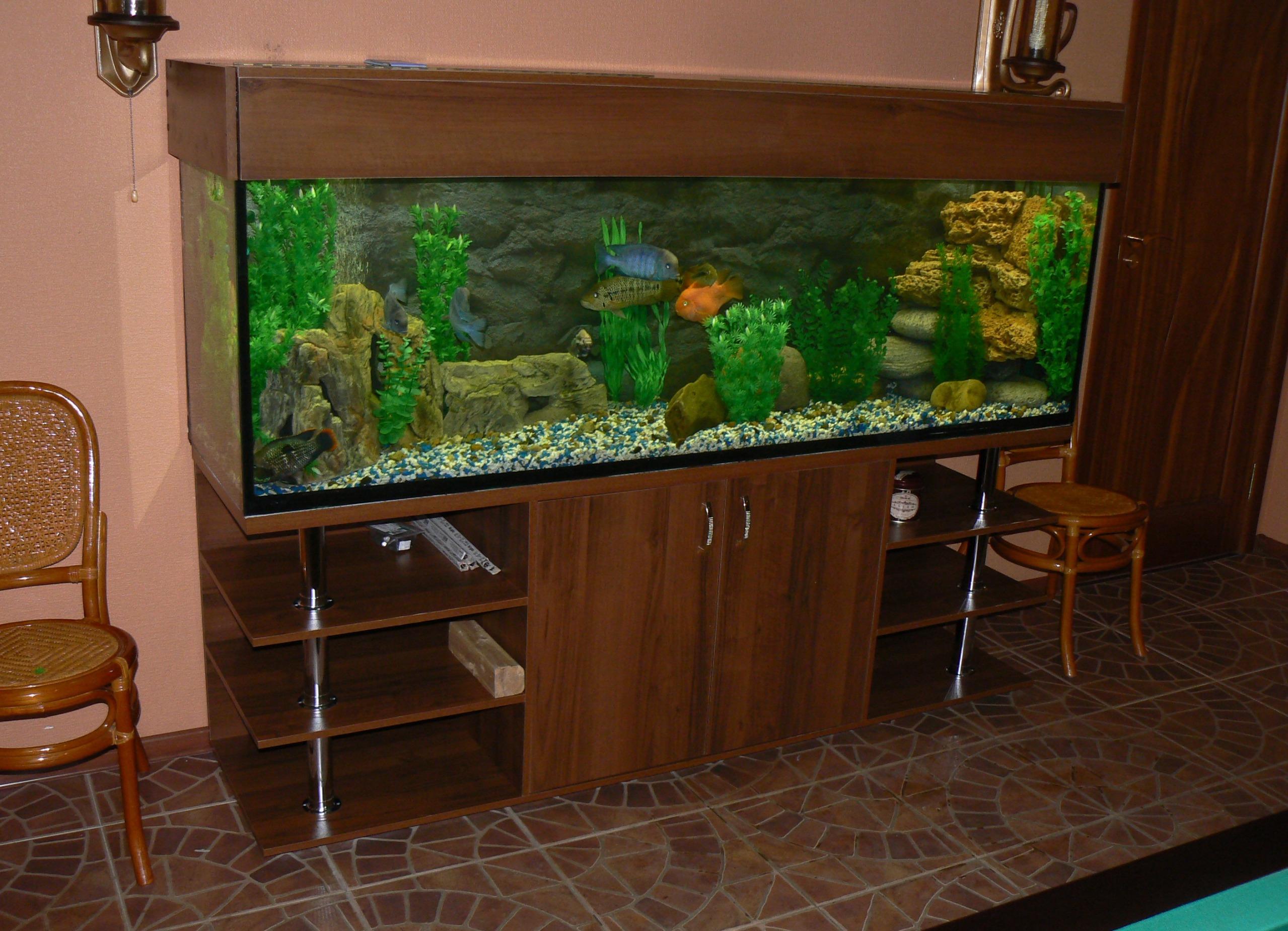 Тумба под аквариум своими руками метал