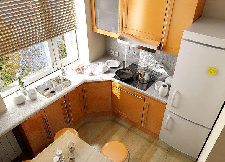 Ремонт малогабаритной кухни своими руками