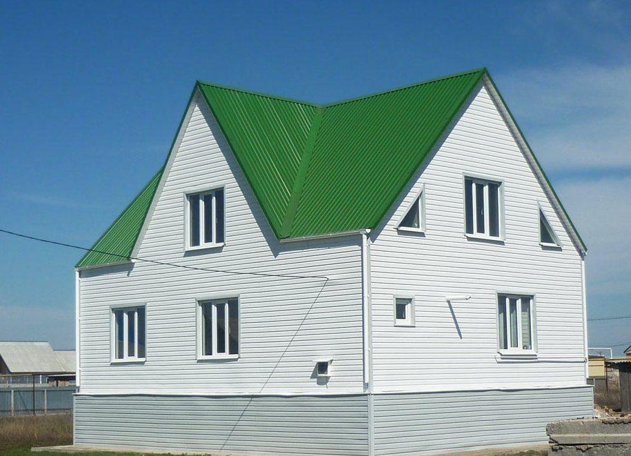 Крыша и фасад сочетание цветов