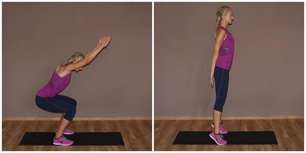 упражнения для похудения ног и попы