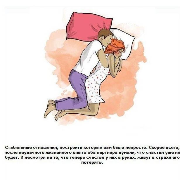 жены в кровати позы