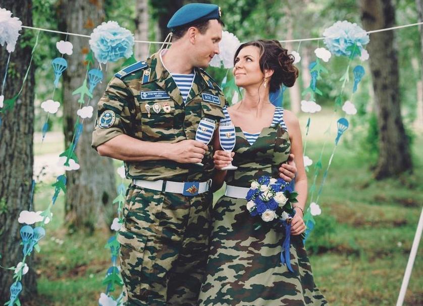 Свадебное платье на день вдв