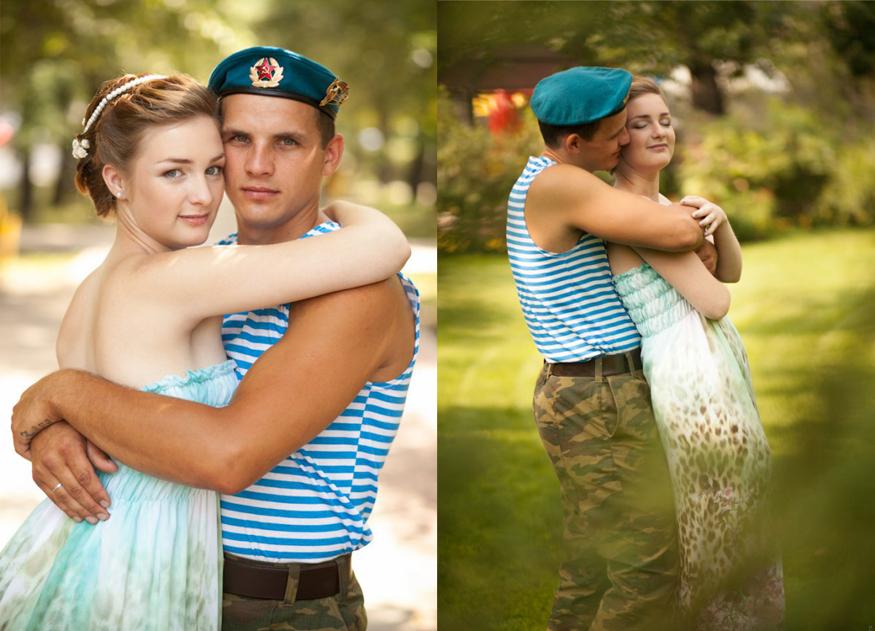 Свадьба десантника фото