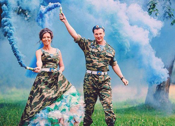 Свадебные платья в стили вдв