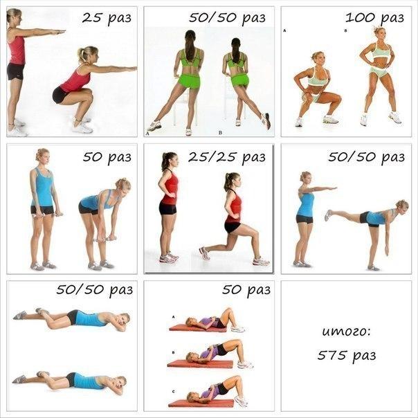 упражнения для фигуры