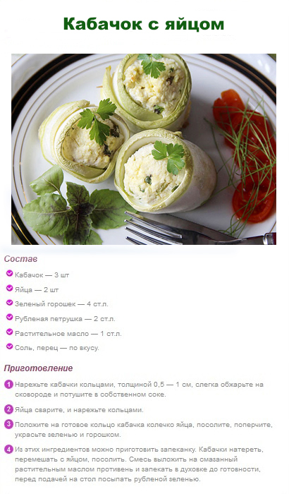 рецепты кабачков похудения фото