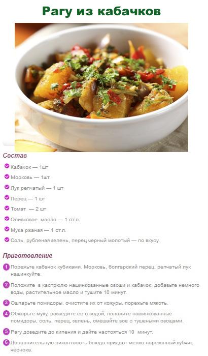 Рецепты простых блюд для похудения в домашних условиях