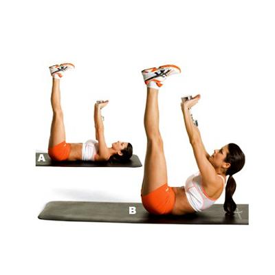 упражнения чтобы убрать жир с коленок