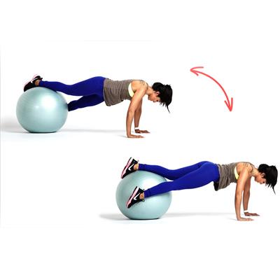 Упражнения на фитболе для похудения видео уроки