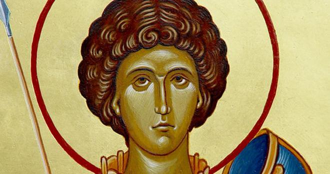 Краткое житие святого великомученика Георгия Победоносца