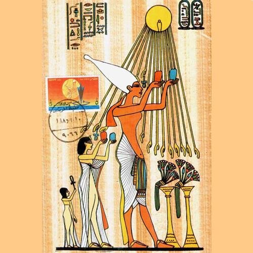 боги древнего египта атон