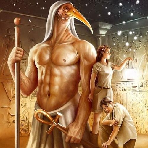 боги древнего египта тот