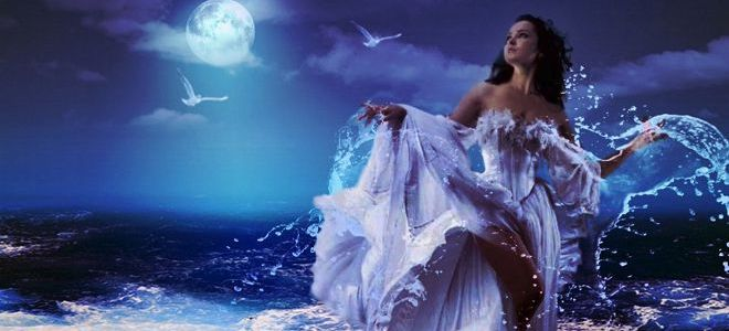 богиня луны у римлян