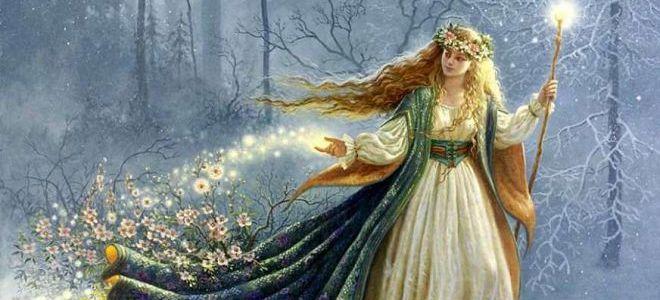 богиня луны у славян