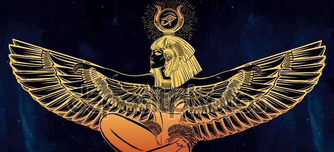 богиня луны в египте