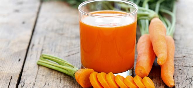 морковный сок для лица