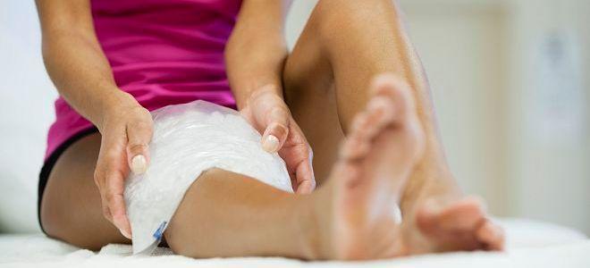 Разрыв мениска коленного