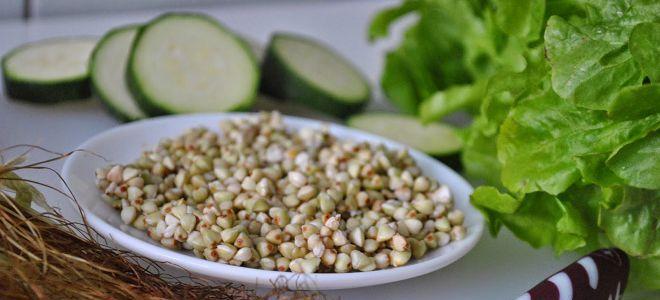 Как приготовить салат из гречки с овощами
