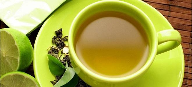 Польза зеленого чая с лимоном