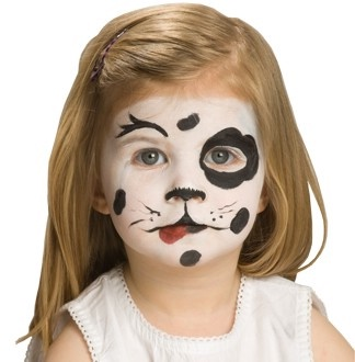 рисунки на лице для детей фото