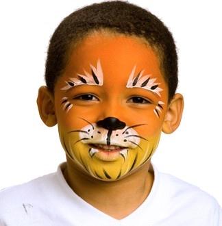 рисунки на лице для мальчиков фото