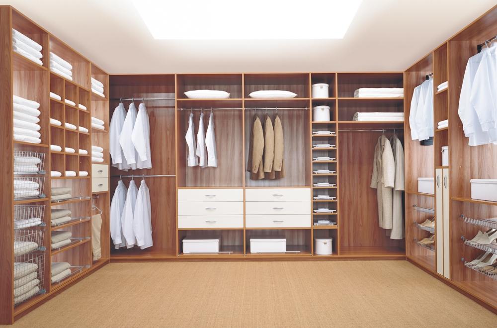 Дизайн гардеробной. фото