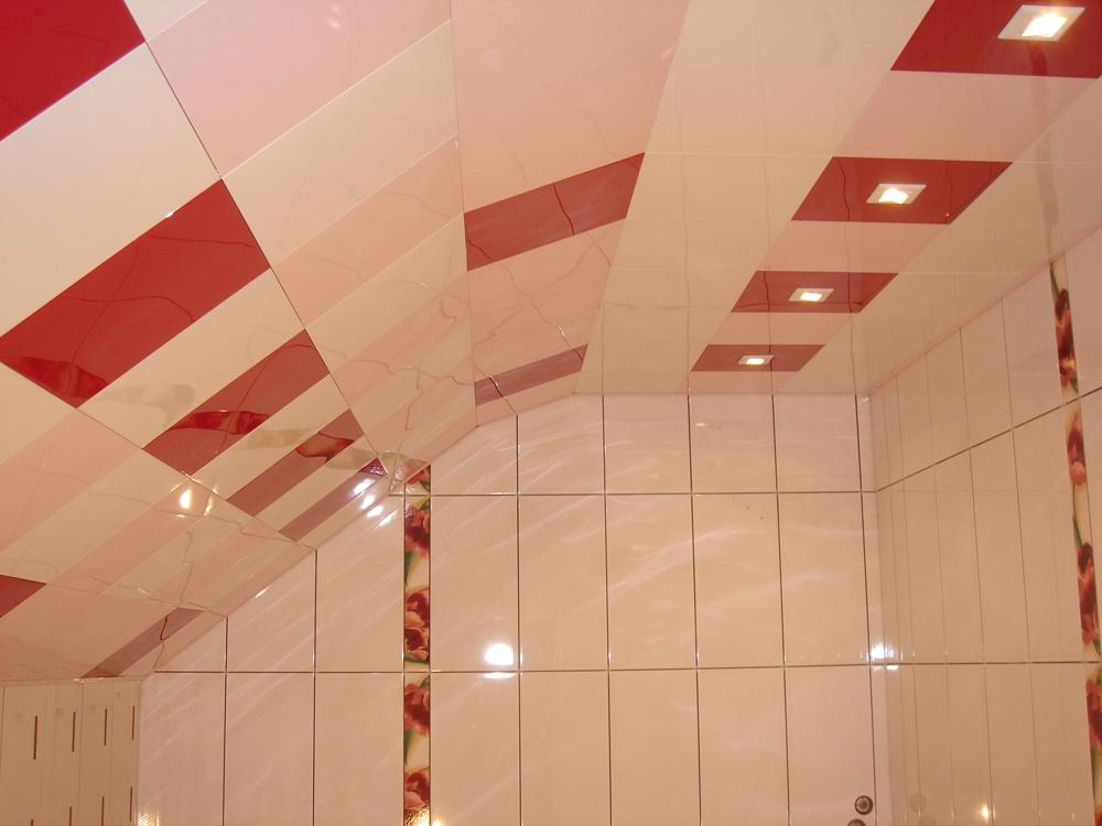 Кассетные потолки для ванной