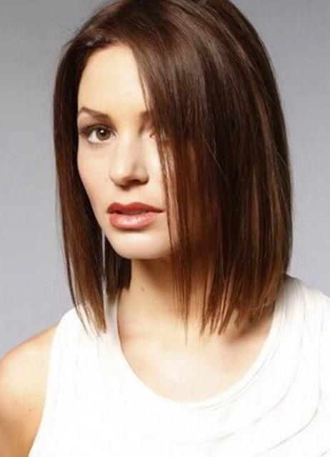 Причёски на короткие волосы без чёлки