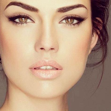 макияж фото лёгкий