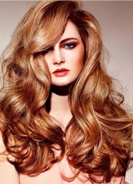 Окрашивание волос в карамельные оттенки