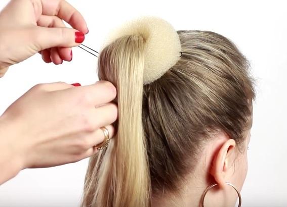 прически для тонких редких волос своими руками 3