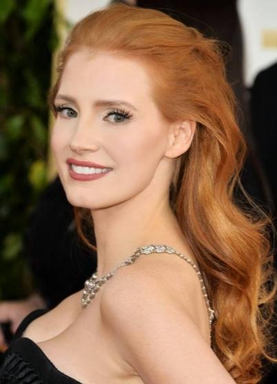 Светло-рыжий цвет волос фото