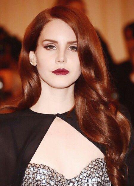 Кому идет темно-рыжий цвет волос
